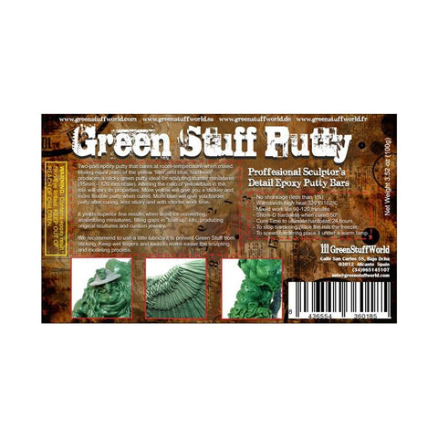 GREEN STUFF WORLD Green Stuff Bar 100gm