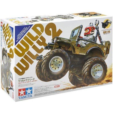 Image of TAMIYA 1/10 Wild Willy 2 2WD Off Road RC Kit