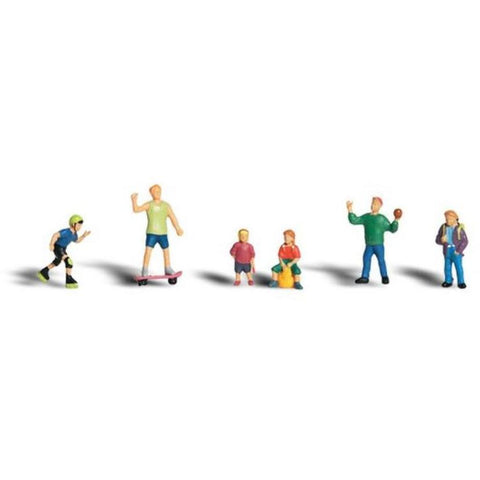 Image of WOODLAND SCENICS HO Kids at Play