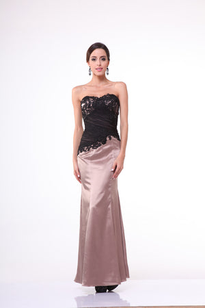 LONG DRESS STYLE #C332A - NORMA REED