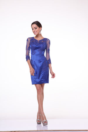 SHORT DRESS STYLE #C383 - NORMA REED