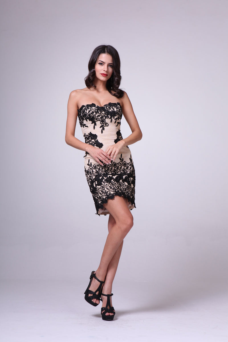 SHORT DRESS STYLE #C385 - NORMA REED