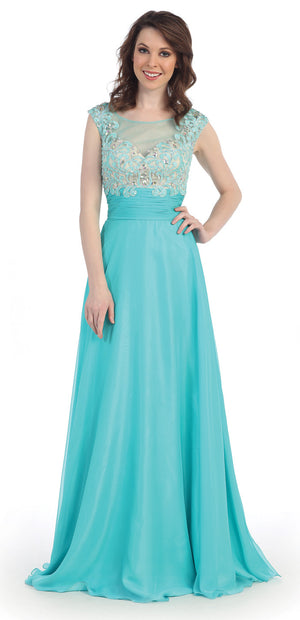 LONG DRESS STYLE #CI50316 - NORMA REED - 1