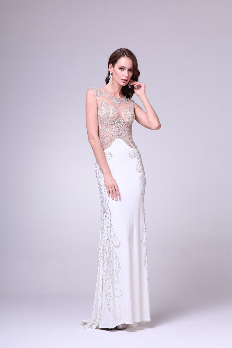 LONG DRESS STYLE #C8700 - NORMA REED - 1