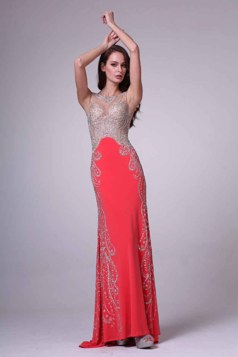 LONG DRESS STYLE #C8700 - NORMA REED - 3