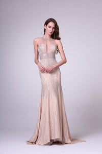 LONG DRESS STYLE #C8704 - NORMA REED - 1