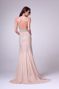 LONG DRESS STYLE #C8704 - NORMA REED - 2