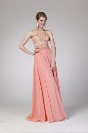 LONG DRESS STYLE #C8705 - NORMA REED - 2