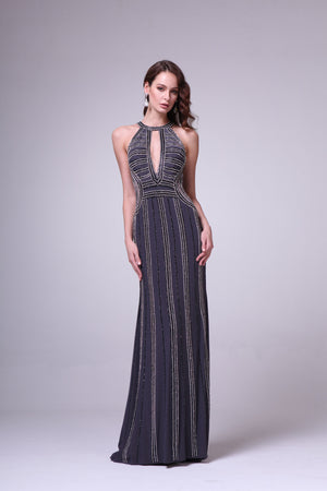 LONG DRESS STYLE #C8706 - NORMA REED - 1