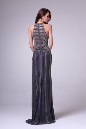 LONG DRESS STYLE #C8706 - NORMA REED - 2