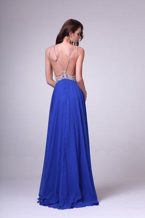 LONG DRESS STYLE #C8709 - NORMA REED - 2