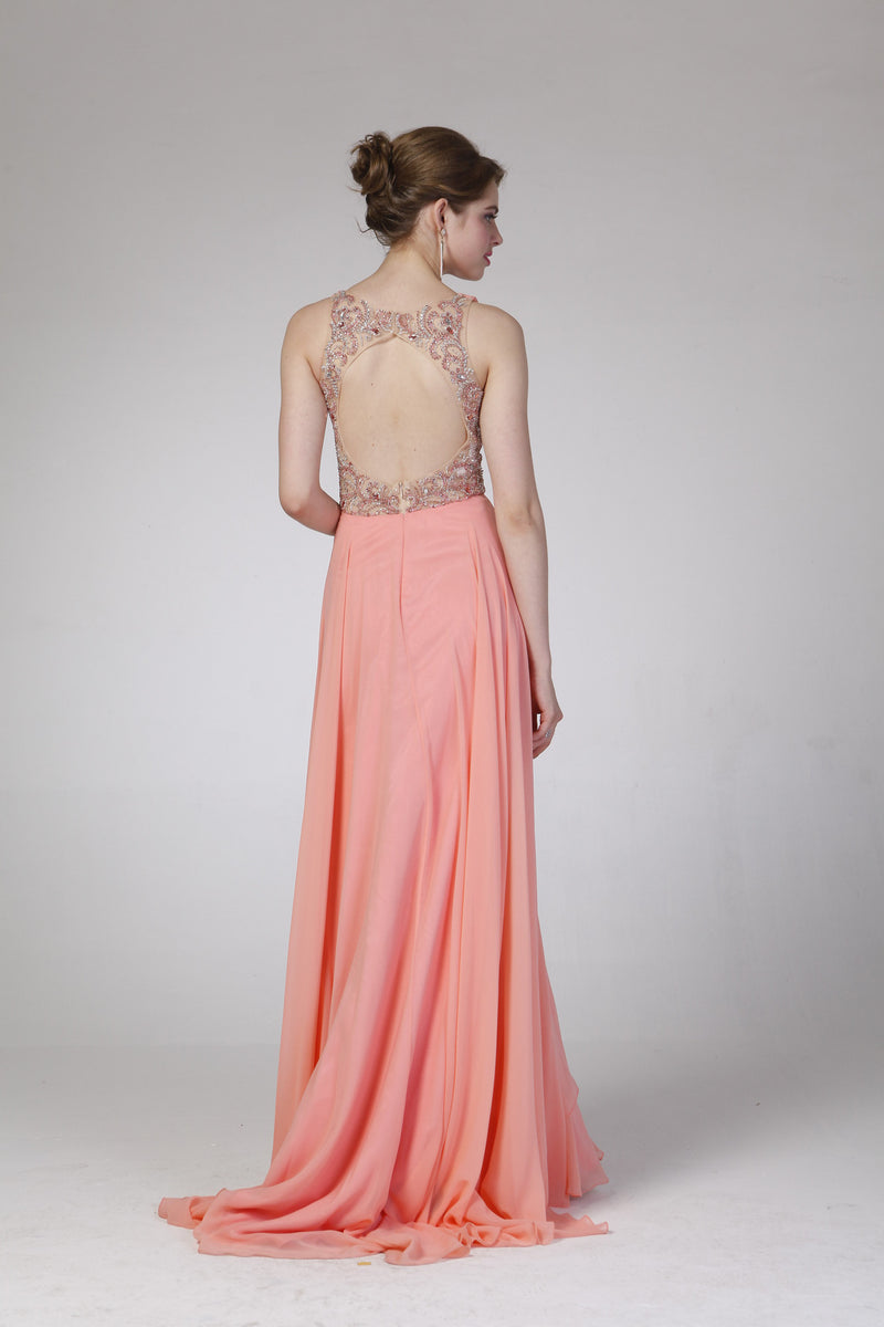 LONG DRESS STYLE #C8710 - NORMA REED - 2