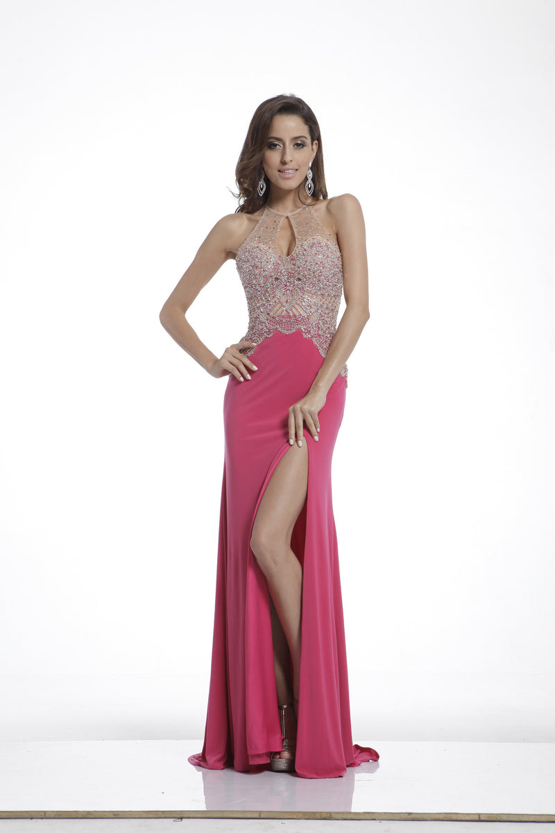 LONG DRESS STYLE #C8714 - NORMA REED - 1