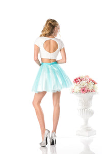 SHORT TWO PIECE PROM DRESS STYLE #CND968 - NORMA REED - 2