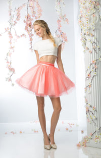 SHORT TWO PIECE PROM DRESS STYLE #CND968 - NORMA REED - 1
