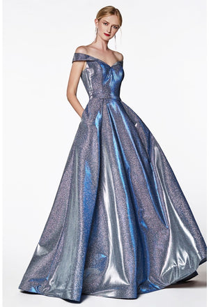 Off Shoulder Shimmering Sparkle Ball Gown Style #cicb0036 | 2019 Prom New Arrivals