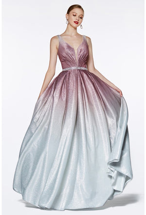Shimmering Ombre Gown Style #cicb0041 | 2019 Prom Dresses
