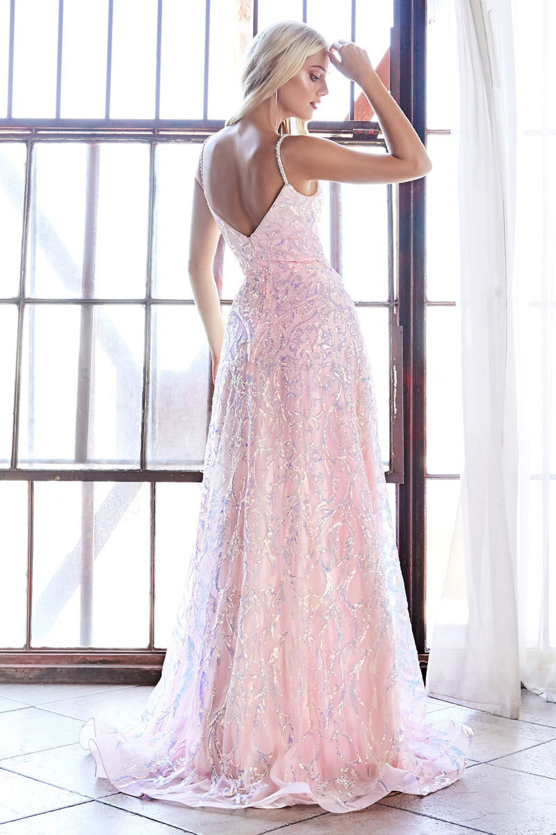 Shimmering Pastel Gown Style #LACB055 | Prom 2020
