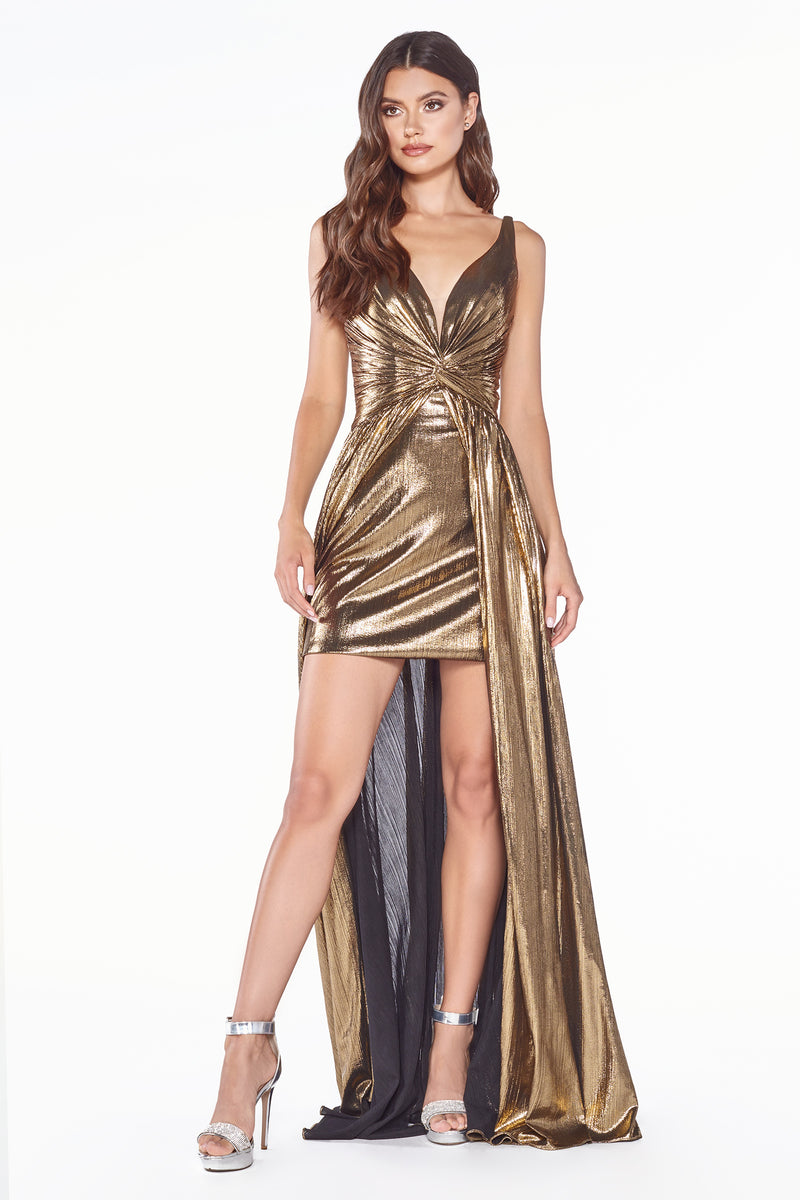 Shimmering Short & Long Gown Style #LACD0151 | Prom 2020