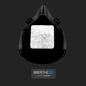 Open image in slideshow, Breathe3D Mask: Black