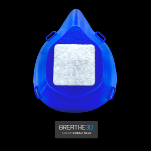 Open image in slideshow, Breathe3D Mask: Cobalt Blue