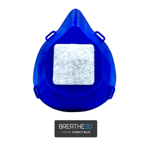 Breathe3D Mask: Cobalt Blue