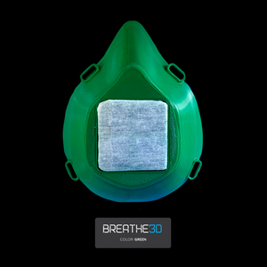 Open image in slideshow, Breathe3D Mask: Green