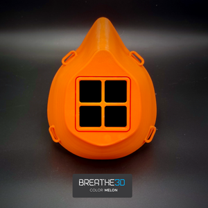 Open image in slideshow, Breathe3D Mask: Melon