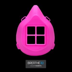 Open image in slideshow, Breathe3D Mask: Magenta
