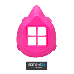 Breathe3D Mask: Magenta