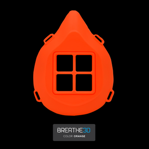 Open image in slideshow, Breathe3D Mask: Orange