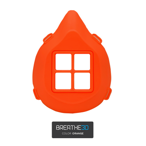 Breathe3D Mask: Orange