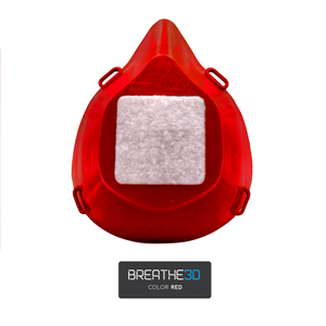 Breathe3D Mask: Red