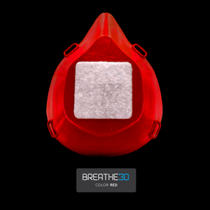 Open image in slideshow, Breathe3D Mask: Red