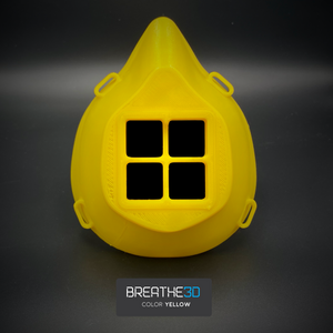 Open image in slideshow, Breathe3D Mask: Yellow