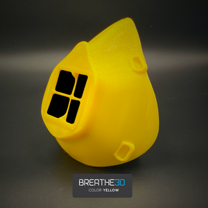 Breathe3D Mask: Yellow