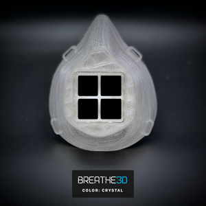 Breathe3D Mask: Crystal