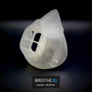 Open image in slideshow, Breathe3D Mask: Crystal