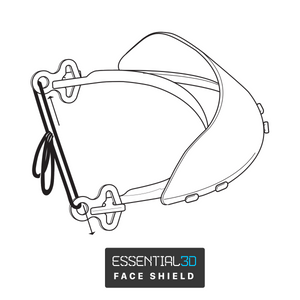 Open image in slideshow, Essential3D: Face Shield
