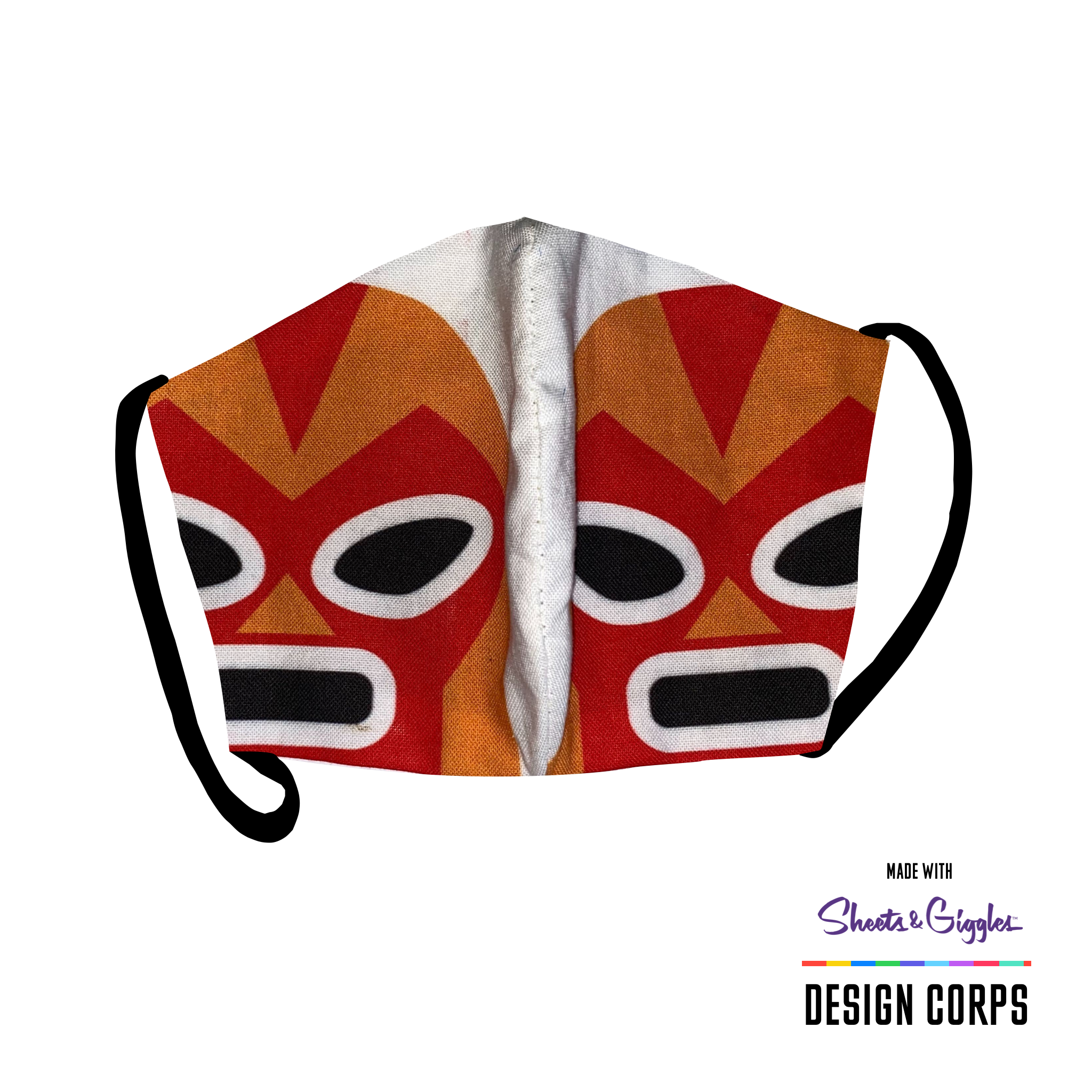 Breathe3L Mask: Lucha Libre