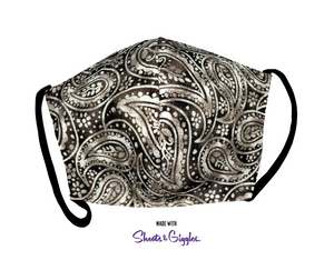 Breathe3L Mask: Peace, Love & Paisley