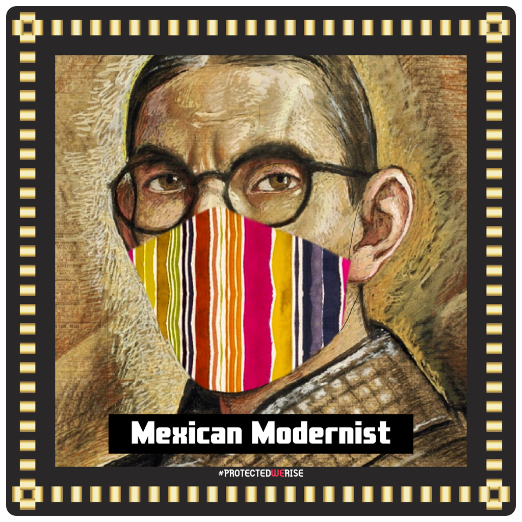 Mexican Modernist Mask