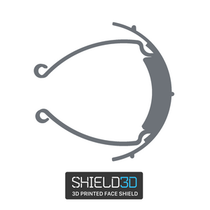 Open image in slideshow, Shield3D: Face Shield