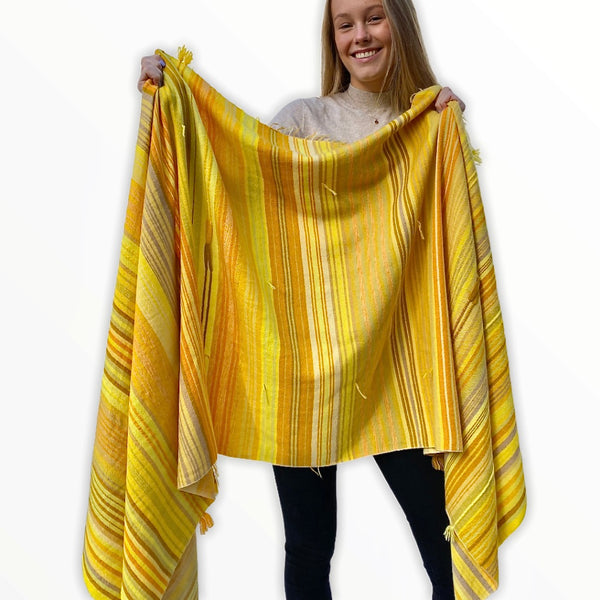 The Holy Goat | Plaid Gipsy Yellow Mulit