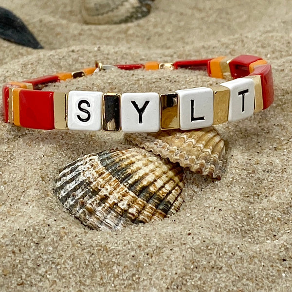 Sylt - take it easy Armband | elastisch