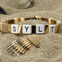 Laden Sie das Bild in den Galerie-Viewer, take it easy sylt - elastisches Armband