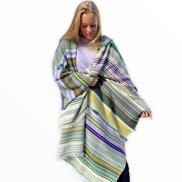 The Holy Goat | Plaid Gipsy Green Multi