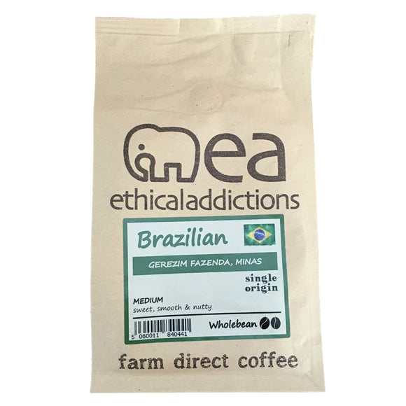 Brazilian Coffee Beans 225g