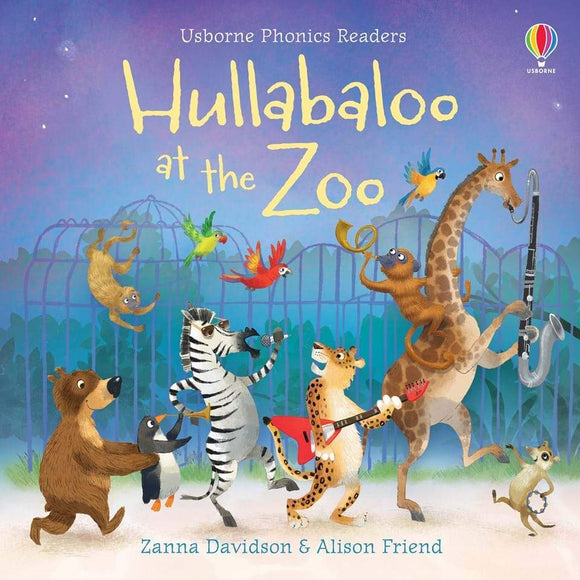 Hullabaloo At The Zoo Phonics Book