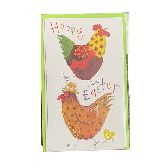 Easter Chickens Pack of 5 Notelets